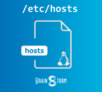 Linux: управление файлом hosts